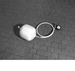 Balón de empuje P/Obturación de gas