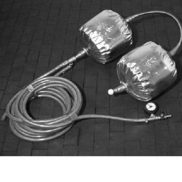 Balón doble p/soldadura gas protector (anti-chispas)